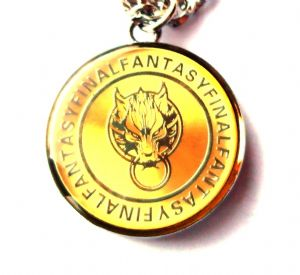 Final Fantasy Squall's Lion Heart Dragon Pendant
